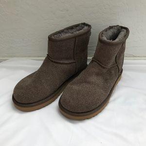 Ugg Boots Classic Mini Serein - stormy grey, Sz 6